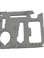 Outdoor multi-purpose tool card / life card 11 features Swiss Army knife card