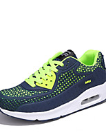 Men's Sneakers Spring Summer  Light Soles Tulle Outdoor Athletic Casual Flat Heel Running Shoes