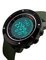 Reloj Smart Resistente al Agua Long Standby Deportes Múltiples Funciones BrújulaTemporizador Reloj Cronómetro Despertador Cronógrafo