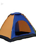 1 personne Tente Double Tente pliable Une pièce Tente de camping 1000-1500 mm Fibre de verre OxfordRésistant à l'humidité Etanche