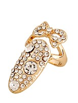 Ring Euramerican Rhinestone Zinc Alloy Jewelry For Wedding Party Special Occasion 1pc