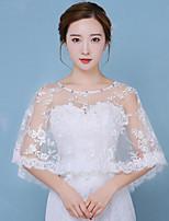Wickeltücher für Frauen Ponchos Baumwolle Hochzeit Spitze