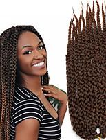 Вязаные Кубический Twist Гавана Box плетенки Спиральные плетенки Наращивание волос Kanekalon косы волос