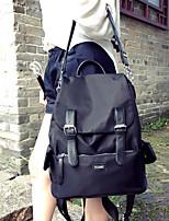 Women Sports & Leisure Bag Oxford Cloth All Seasons Sports Outdoor Professioanl Use Camping & Hiking Climbing Zipper Black