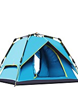 3-4 persons Double Automatic Tent One Room Camping TentCamping Traveling