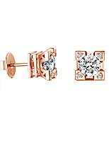Серьги-гвоздики Мода Euramerican Позолота Бижутерия Для Для вечеринок День рождения Повседневные 1 пара