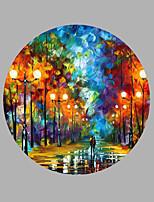 Ručně malované Krajina Jakýkoliv Shape,Moderní Jeden panel Plátno Hang-malované olejomalba For Home dekorace