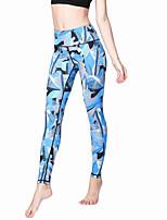 Pantalon de yoga Collants Leggings Respirable Séchage rapide Taille moyenne Haute élasticité Vêtements de sport FemmeYoga Pilates