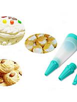 zdobení Tool pro Cake pro Chocolate pro Candy Plast Silikon DIY Šetrný k životnímu prostředí