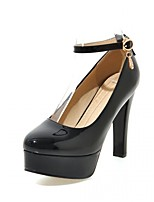 Women's Heels Spring Summer Fall Winter Comfort Novelty PU Synthetic Leatherette Office & Career Dress Casual Stiletto Heel RivetBlack