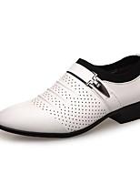 Men's Oxfords Summer Fall Comfort Casual Low Heel Buckle Split Joint Walking