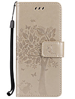For Huawei P10 Mate9  Card Holder Wallet with Stand Flip Embossed Case Full Body Case Tree Hard PU Leather for p9lte P9 P9 Honor 8 5C 4X Y5II  V8