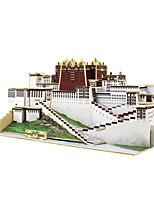Пазлы 3D пазлы Строительные блоки Игрушки своими руками Китайская архитектура 1 Дерево Модели и конструкторы