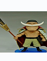 Anime Toimintahahmot Innoittamana One Piece Edward Newgate PVC CM Malli lelut Doll Toy