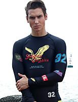 Sportif Homme Respirable Séchage rapide Néoprène Tenue de plongée Manches longues Combinaisons-Plongée Printemps Eté Mode