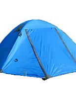 2 personnes Tente Unique Tente automatique Une pièce Tente de camping >3000mm Oxford Fibre de verreRésistant à l'humidité Etanche