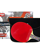 4 Stars Ping Pang/Table Tennis Rackets Ping Pang Wood Long Handle Pimples