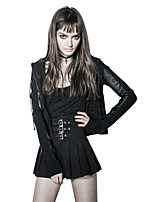 Punk Rave Women's Sexy Punk Gothic High Rise Mini Skirts