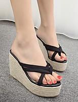 Damen-Loafers & Slip-Ons-Lässig-WildlederLeuchtende Sohlen-Weiß Schwarz Grau Rosa