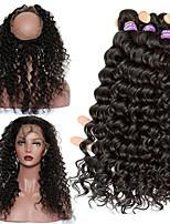 One Pack Solution Малазийские волосы Крупные кудри 12 месяцев 4 предмета волосы ткет