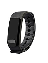 Smart Bracelet Calories Burned Pedometers Heart Rate Monitor Touch Screen Anti-lost InformationSleep Tracker Sedentary Reminder Exercise