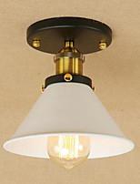 플러쉬 마운트 ,  러스틱 빈티지 페인팅 특색 for LED 금속 거실 침실 주방 학습 방 / 사무실 현관