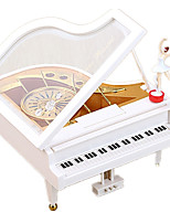 Music Box Square Leisure Hobby Wood Children's Girls´