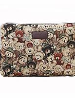 11,6 12 13,3 14,1 15,6 дюймовый симпатичный медведь компьютер сумка ноутбук рукав случае для поверхности / Dell / HP / Samsung / Sony и