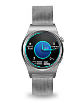 Je x10 mannen smartwatch android smart horloge iqi support gps hartslag monitor met 1.39 inch ips display klok telefoon