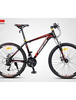 Горный велосипед Велоспорт 24 Скорость 26 дюймы/700CC Двойной дисковый тормоз Передняя вилка с амортизацией Стальная рамаПротивозаносный