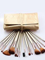Wool Make Up Brush Set Portable