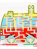 Лабиринты и логические головоломки Для получения подарка Конструкторы Автобус Дерево 2-4 года Игрушки