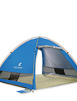 3-4 persons Tent Single Automatic Tent One Room Camping Tent 1000-1500 mm Carbon FiberMoistureproof/Moisture Permeability Waterproof