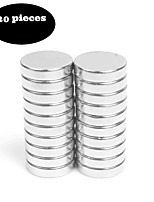 20pcs12X3 Brushed Nickel Magnetic Push Pins Bonus Magnet - Fridge Magnets Office Magnets Dry Erase Board Magnets Refrigerator Magnets Whiteboard