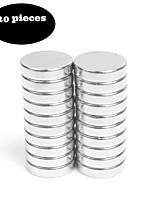 20pcs12x3 матовый никель магнитный толчок контакты магнит бонус - холодильник магниты офисные магниты сухие стирания доски магниты