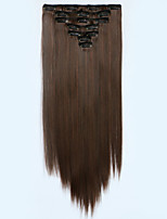 На клипсе Синтетический Наращивание волос Наращивание волос