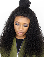 8A Grade Lace Front Human Hair Wigs Kinky Curly for Black Woman 180% Density Brazilian Virgin Hair Glueless Lace Wigs with Baby Hair