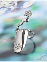 Кольцо Euramerican Стразы Бижутерия Для Свадьба Для вечеринок Особые случаи 1шт