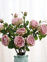1Branch Large Size European Style Rose Artificial Flower