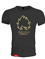 Herrn Kurze Ärmel Laufen T-shirt Atmungsaktiv Weich Komfortabel Sommer Sportbekleidung Übung & Fitness Freizeit Sport Badminton Laufen