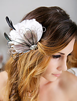 Hand Made Wedding Feather Hair Fascinator Headpieces Fascinators Headbands Hair Accessories Feather Wigs Accessories For Women 041