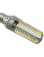 HKV® BA15D E14 E17 E12 5W 80LED 4014SMD 400-500 lm Warm White Cool White Dimmable LED Bi-pin Lights AC 110V / AC 220V 1 pcs