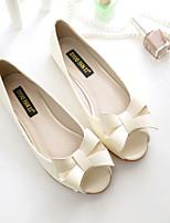 Mujer-Tacón Bajo-Confort-Zapatos de taco bajo y Slip-Ons-Informal-PU-