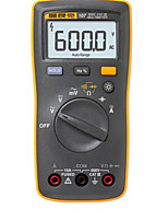 Multimètre numérique portatif fluke _ f-101kit étudiant utilise un test continu