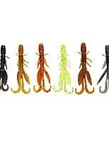 12 pcs Soft Bait Fishing Lures Soft Bait phantom g/Ounce,58 mm/2-5/16