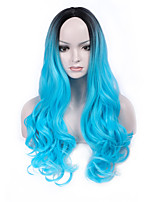 High Quality Heat Resistant Body Wavy Long Wig for Women