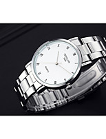 Men's Women's Fashion Watch Quartz / Alloy Band Casual White