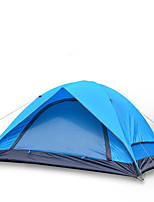 JUNGLEBOA 3-4 persons Tent Double Family Camping Tents One Room Camping Tent Oxford Polyester TaffetaMoistureproof/Moisture Permeability