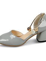 Femme-Mariage Extérieure Bureau & Travail Habillé Décontracté--Gros Talon-Gladiateur Confort-Sandales-Polyuréthane