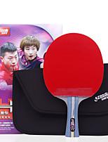 4 Stars Ping Pang/Table Tennis Rackets Ping Pang Wood Long Handle Pimples